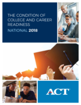 Cover page for ACT report